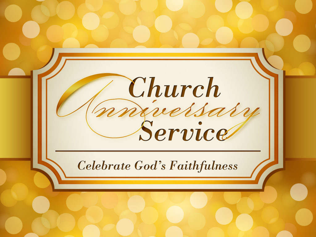 Church Anniversary Celebration